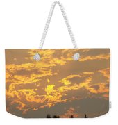 Sunlit Clouds Sunset Art Prints Gifts Orange Yellow Sunsets Baslee Troutman Weekender Tote Bag