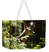Sunlit Deer Friend Weekender Tote Bag
