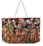 Sunlit Fall Corn Weekender Tote Bag