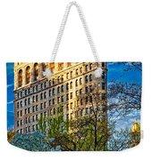 Sunlit Flatiron Spring Weekender Tote Bag