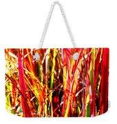 Sunlit Grass Weekender Tote Bag