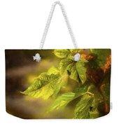 Sunlit Leaves Weekender Tote Bag