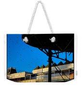 Sunlit Pier Weekender Tote Bag