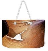 Sunlit Slot Canyon Weekender Tote Bag