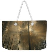 Sunlit Smoke Whispers The Firefighters Weekender Tote Bag