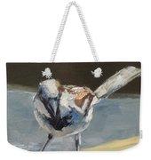 Sunlit Sparrow Weekender Tote Bag