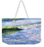 Sunlit Surf Weekender Tote Bag
