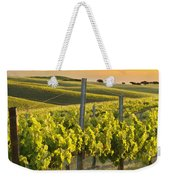Sunlit Vineyard Weekender Tote Bag