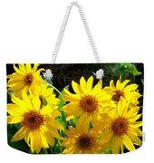 Sunlit Wild Sunflowers Weekender Tote Bag