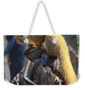 Sunning Squirrel Weekender Tote Bag