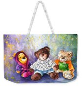 Sunny And Caramel And Truffle Mcfurry Weekender Tote Bag