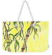Sunny Bamboo Weekender Tote Bag
