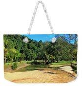 Sunny Beach Tioman Island Weekender Tote Bag