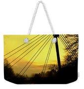 Sunny Bridge Weekender Tote Bag