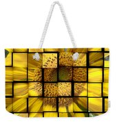 Sunny Composition Weekender Tote Bag