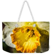 Sunny Daffodil Weekender Tote Bag
