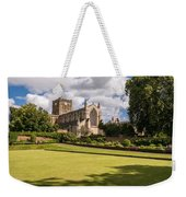 Sunny Day At Hexham Abbey Weekender Tote Bag