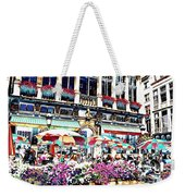 Sunny Day On The Grand Place Weekender Tote Bag