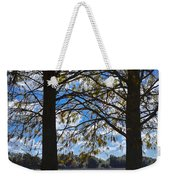 Sunny Day On The Pond Weekender Tote Bag