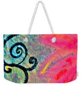 Sunny Day Pink Weekender Tote Bag