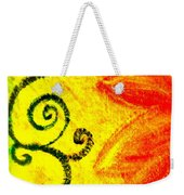 Sunny Day Red Weekender Tote Bag