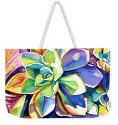 Sunny Day Succulent Weekender Tote Bag
