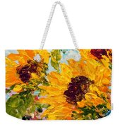 Sunny Day Sunflowers Weekender Tote Bag