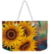 Sunny Faces Weekender Tote Bag