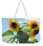 Sunny Flowers Weekender Tote Bag