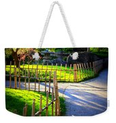 Sunny Garden Path Weekender Tote Bag
