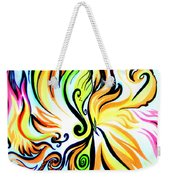 Sunny Morning. Abstract Vision Weekender Tote Bag