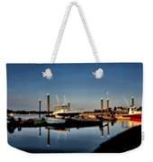 Sunny Morning At Onset Pier Weekender Tote Bag