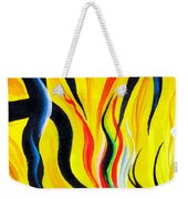 Sunny Morning, Energy. Abstract Art Weekender Tote Bag