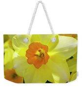Sunny Narcissus Weekender Tote Bag