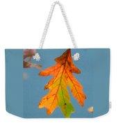 Sunny Oak Leaf Weekender Tote Bag