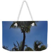 Sunny Palm Weekender Tote Bag