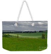 Sunny Patches On The Field. Weekender Tote Bag