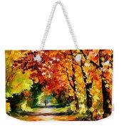 Sunny Path Weekender Tote Bag