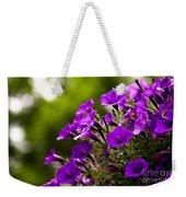 Sunny Petunias 1 Weekender Tote Bag