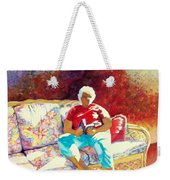 Sunny Retreat 3 Weekender Tote Bag by Kathy Braud