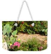 Sunny Rock Garden Weekender Tote Bag