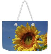 Sunny Sunflower Soloist With Backup Chorus Weekender Tote Bag