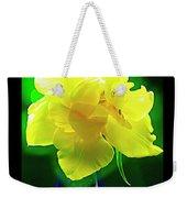 Sunny Tulip In Vase. Weekender Tote Bag