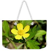 Sunny Yellow Buttercup Weekender Tote Bag