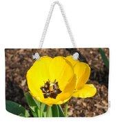 Sunny Yellow Tulips Weekender Tote Bag
