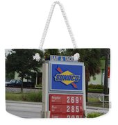Sunoco Bait And Tackle Weekender Tote Bag