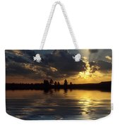 Sunray Sunset Weekender Tote Bag