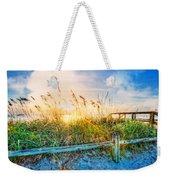 Sunrays On The Beach Weekender Tote Bag