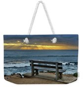Sunrays On The Horizon Weekender Tote Bag