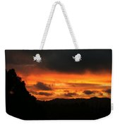 Sunrise 09 29 17 Weekender Tote Bag